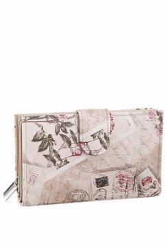 j.jayz portemonnee met mooie print beige