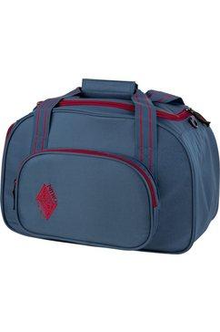 nitro sporttas, »duffle bag xs blue steel« blauw