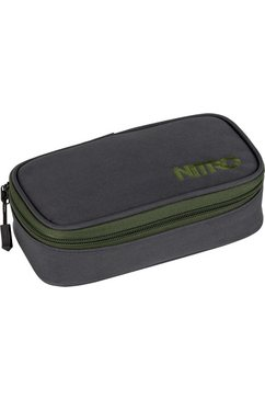 nitro schooletui, »pencil case xl pirate black« grijs