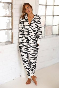vivance dreams jumpsuit in etno-design zwart