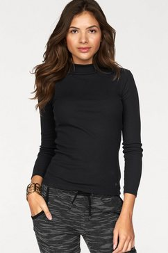 ajc shirt met lange mouwen zwart