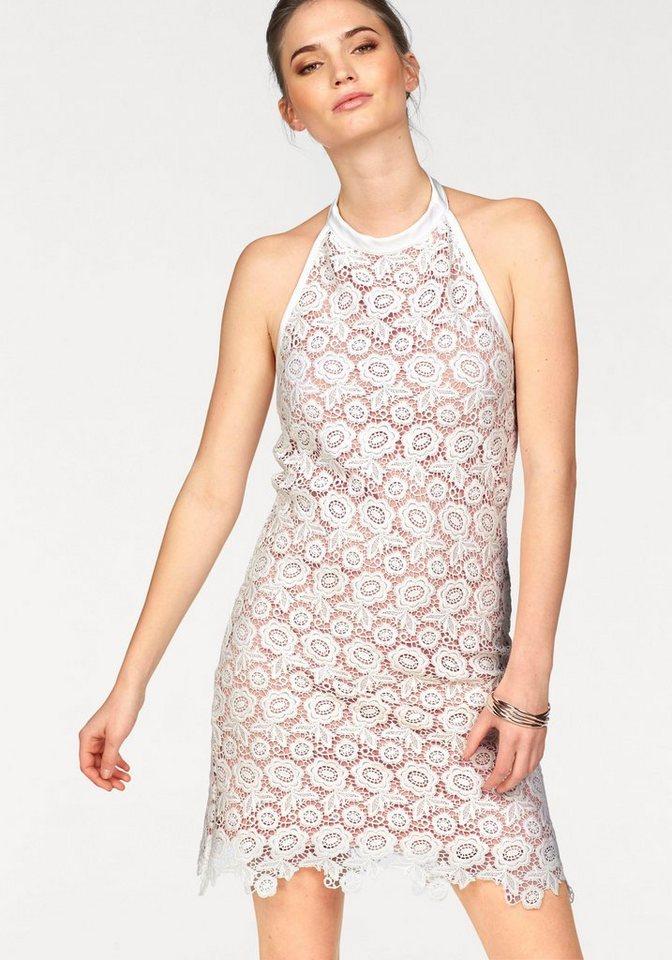 Laura Scott jurk in haltermodel wit