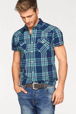 john devin overhemd met korte mouwen multicolor