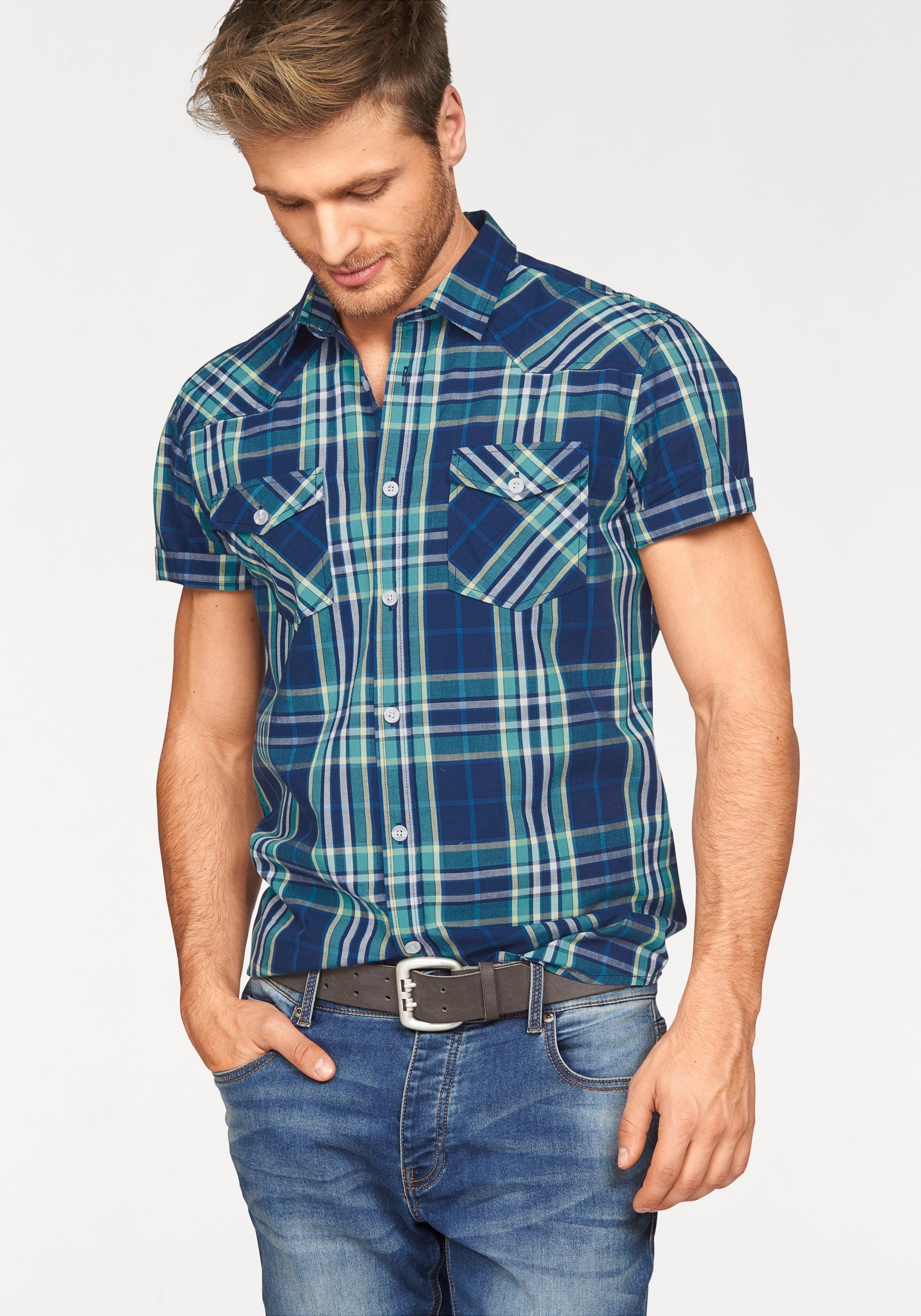 John Devin overhemd met korte mouwen - verschillende betaalmethodes