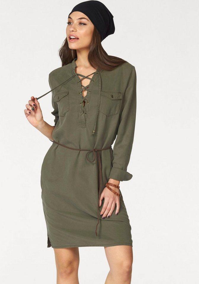 ONLY blousejurkje ARIZONA groen
