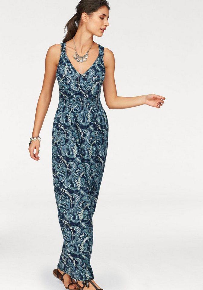 Boysen's maxi-jurk blauw