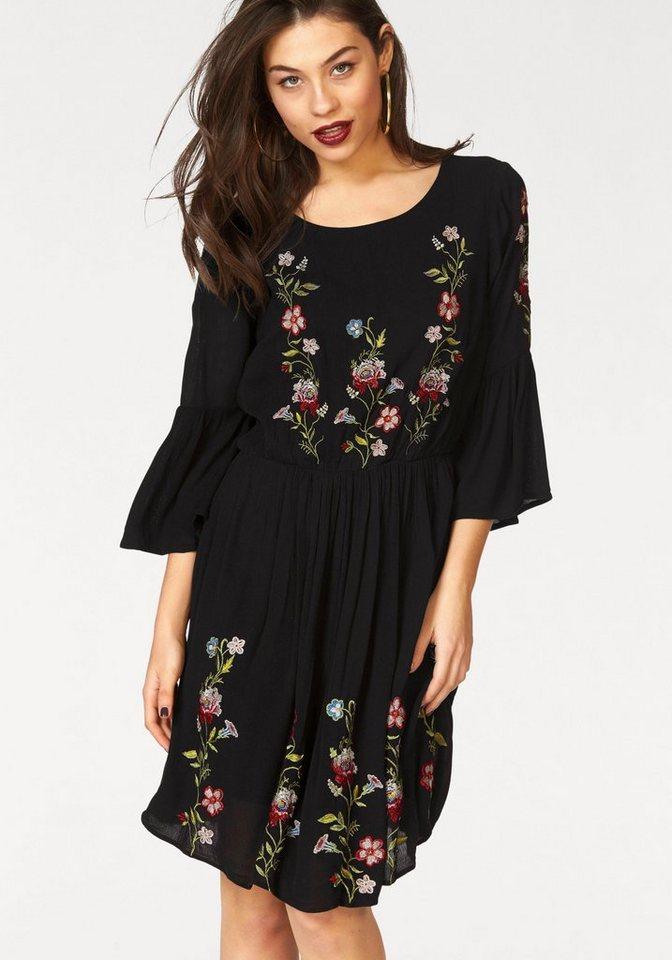 VERO MODA geweven jurk »HENDRIX« zwart