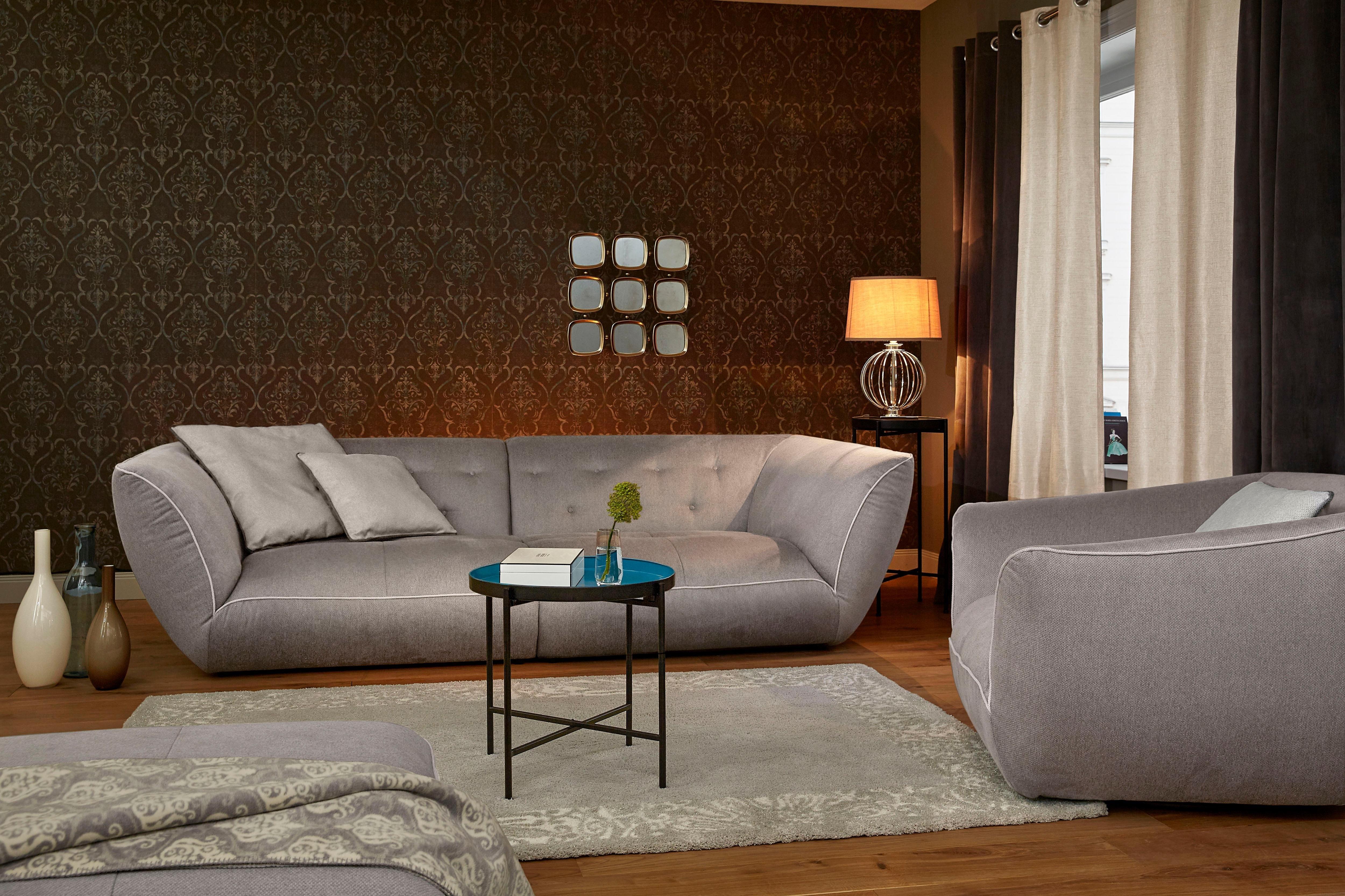 gordijn gmk home living glow zeilringen set van 2 online verkrijgbaar otto. Black Bedroom Furniture Sets. Home Design Ideas