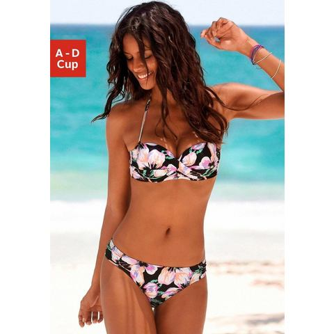 NU 21% KORTING: S.OLIVER RED LABEL beachwear beugelbikini in bandeaumodel (2-delig)