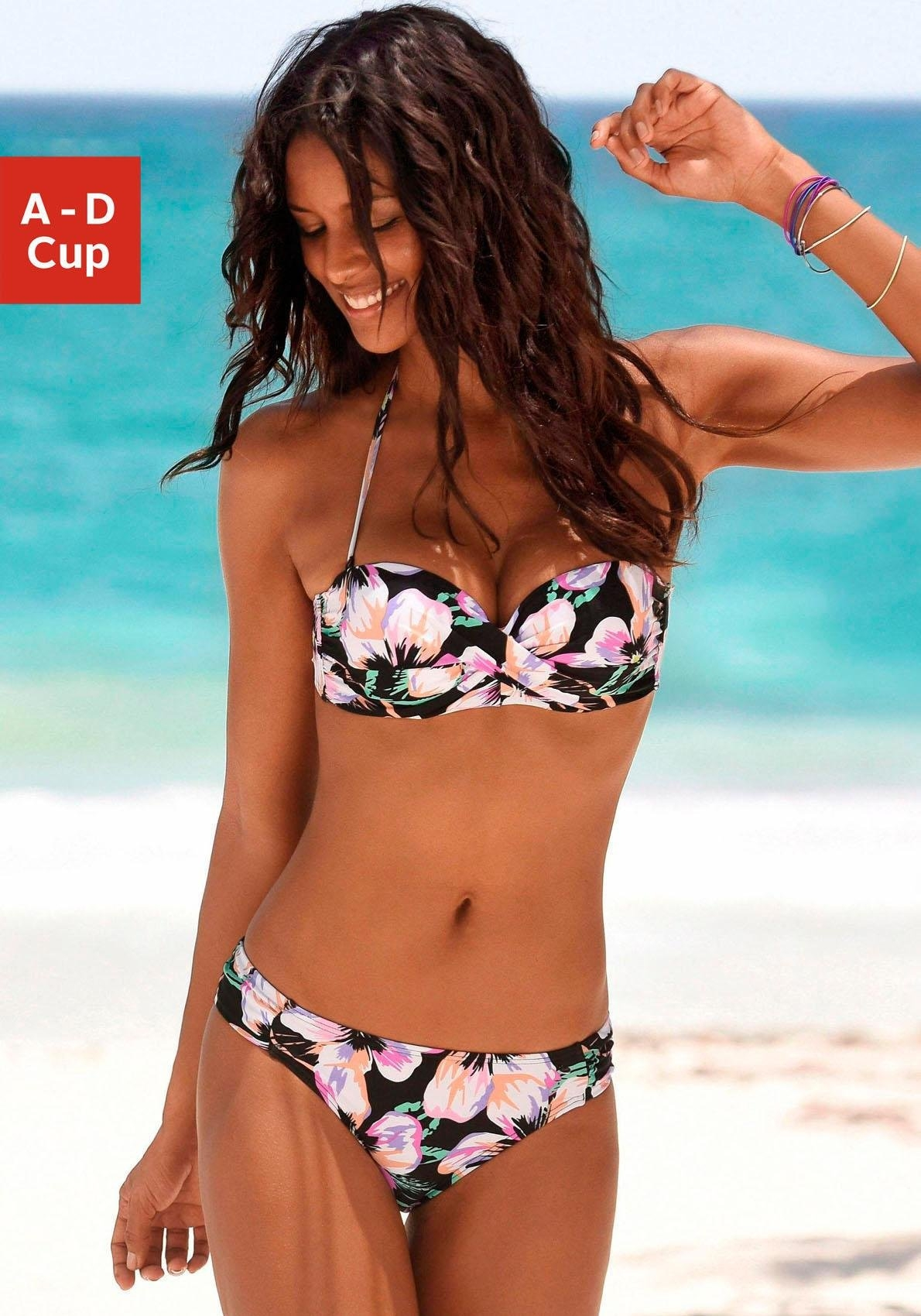 S.oliver Red Label beachwear beugelbikini in bandeaumodel - verschillende betaalmethodes