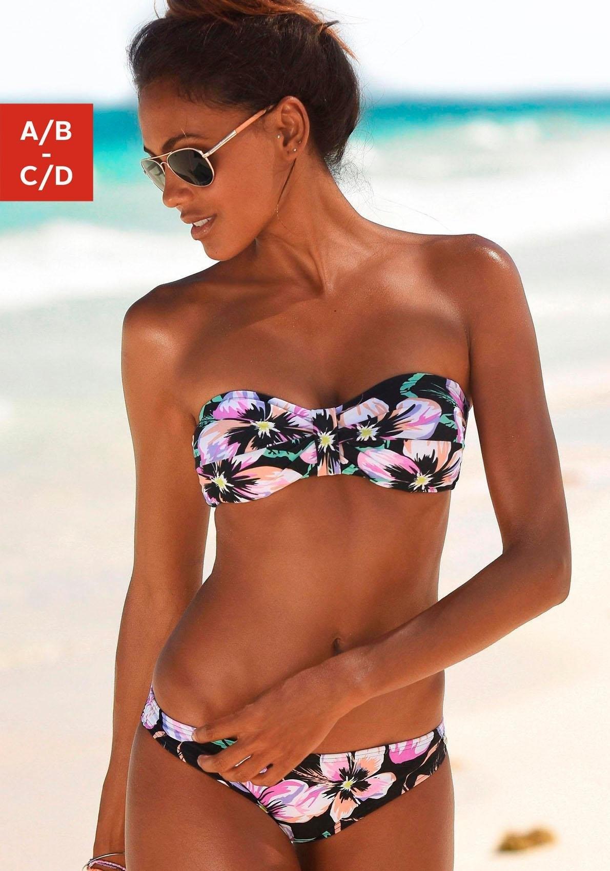 S.oliver RED LABEL beachwear bandeaubikini voordelig en veilig online kopen