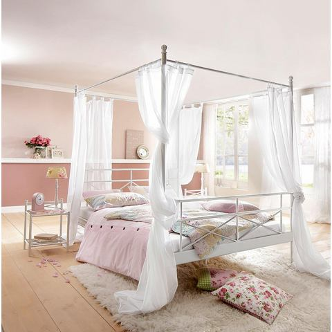 HOME AFFAIRE Metalen hemelbed van 205 cm hoog wit wit Home Affaire 420293