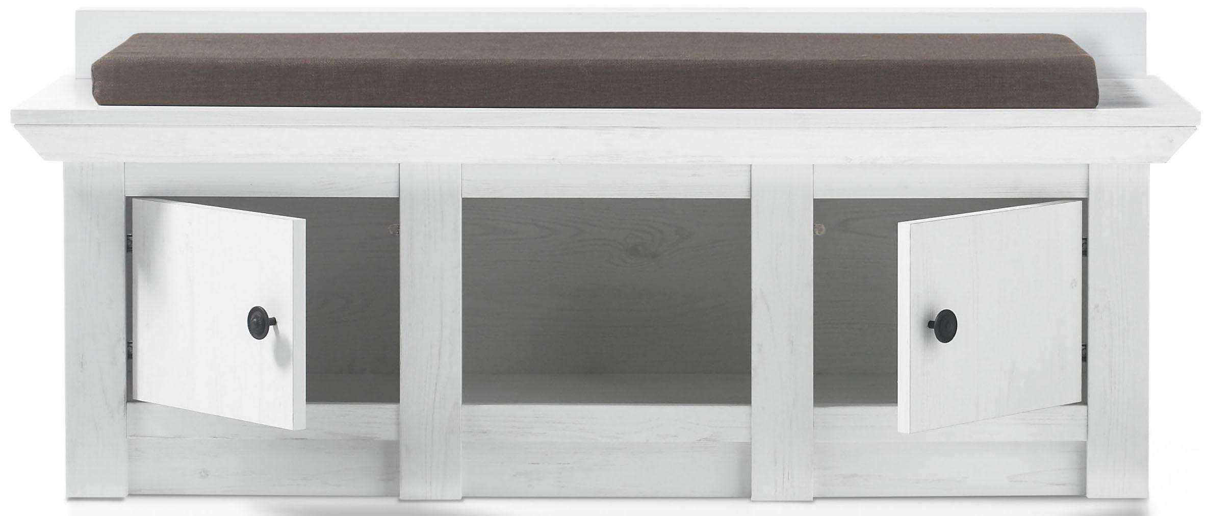 home affaire garderobebank california incl zitkussen makkelijk gekocht otto. Black Bedroom Furniture Sets. Home Design Ideas