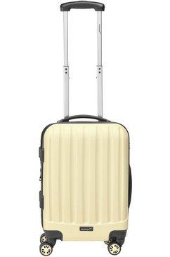 packenger harde trolley met 4 wieltjes, »velvet« bruin