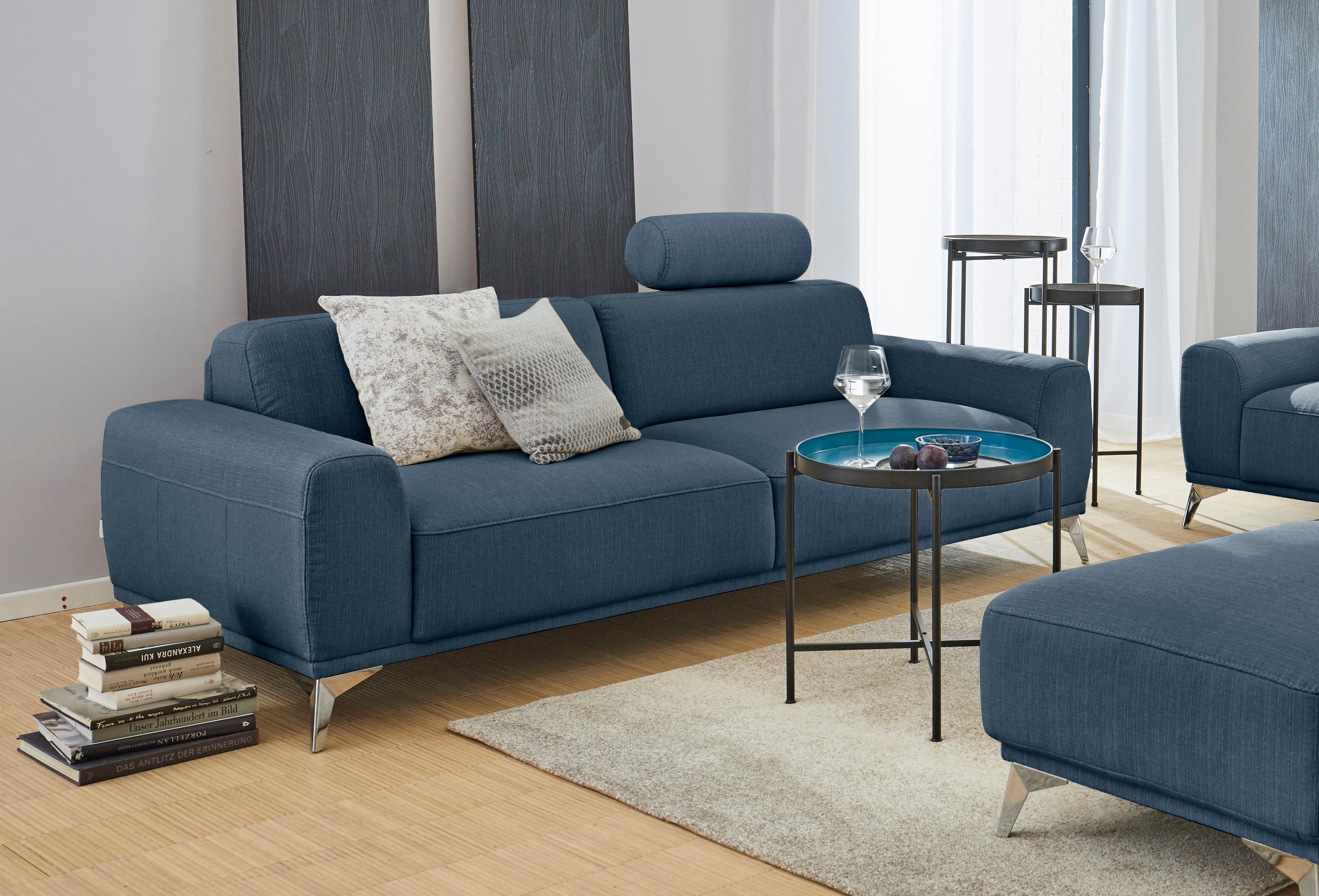 gmk home living 3 zitsbank bank tea met hoofdsteun online bestellen otto. Black Bedroom Furniture Sets. Home Design Ideas
