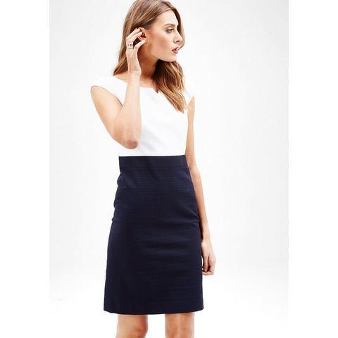 Picture s.Oliver BLACK LABEL Elegante zakelijke jurk blauw 892939