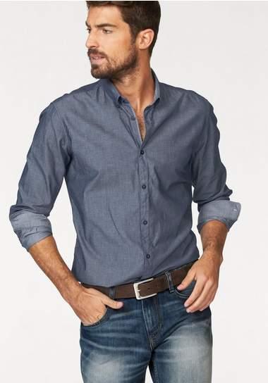 TOM TAILOR overhemd met lange mouwen