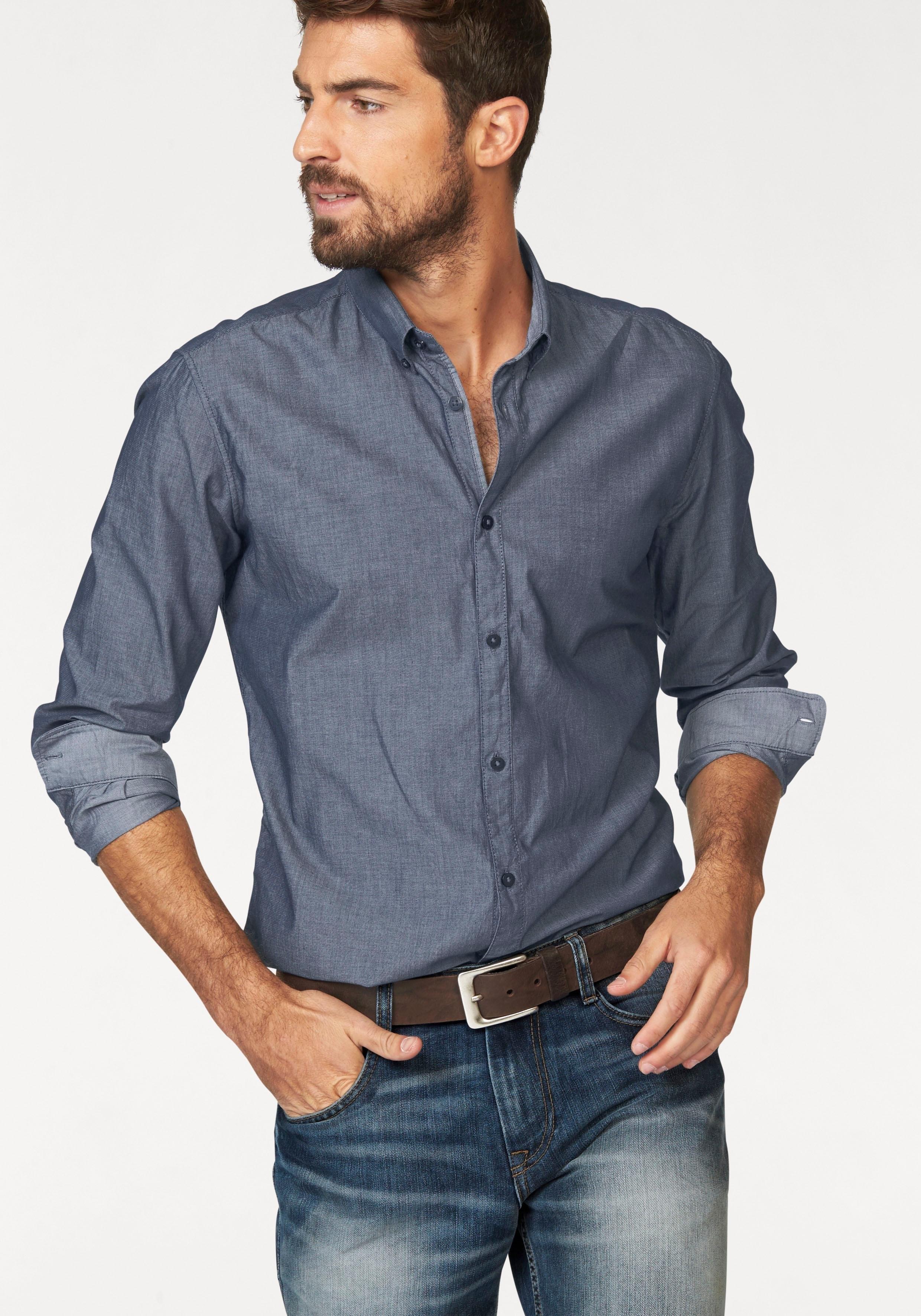 TOM TAILOR overhemd met lange mouwen bij OTTO online kopen