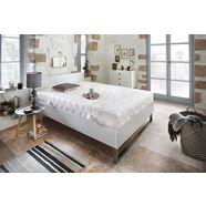 beco exclusiv comfortschuimmatras double deluxe 20 hoogte 20 cm wit