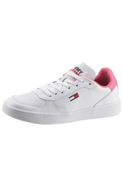 tommy jeans sneakers »wmns tommy jeans cupsole« wit