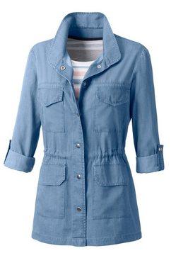 casual looks blousejasje blauw