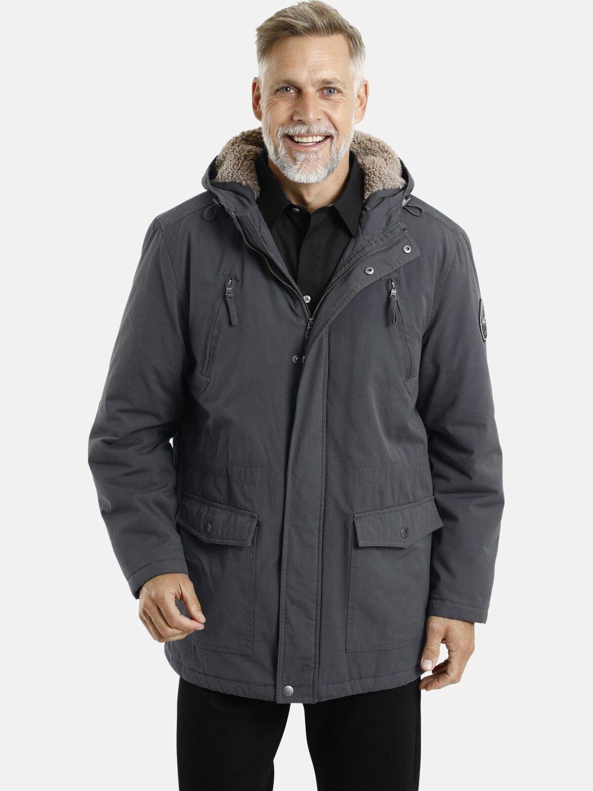 Jan Vanderstorm parka ISAK Winterjack met veel zakken - verschillende betaalmethodes