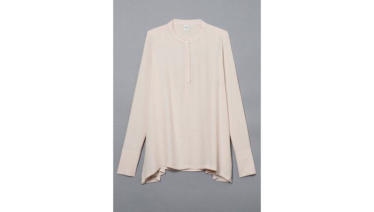 Eterna blouse met lange mouwen 1863 by ETERNA – PREMIUM Staande kraag