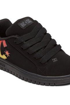 dc shoes sneakers court graffik ac-dc zwart
