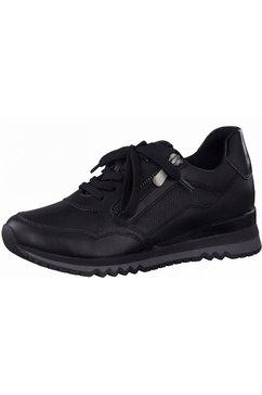 marco tozzi sneakers met zacht verdikte rand zwart