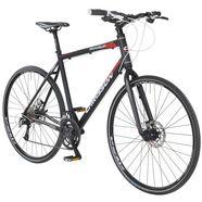 chrisson mountainbike »roadgun 2.0«, 28 inch, 18 versnellingen, hydraulische schijfremmen zwart