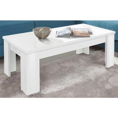 Moderne salontafel, met plank