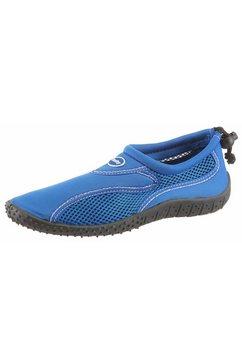 fashy waterschoenen met mesh-inzet blauw