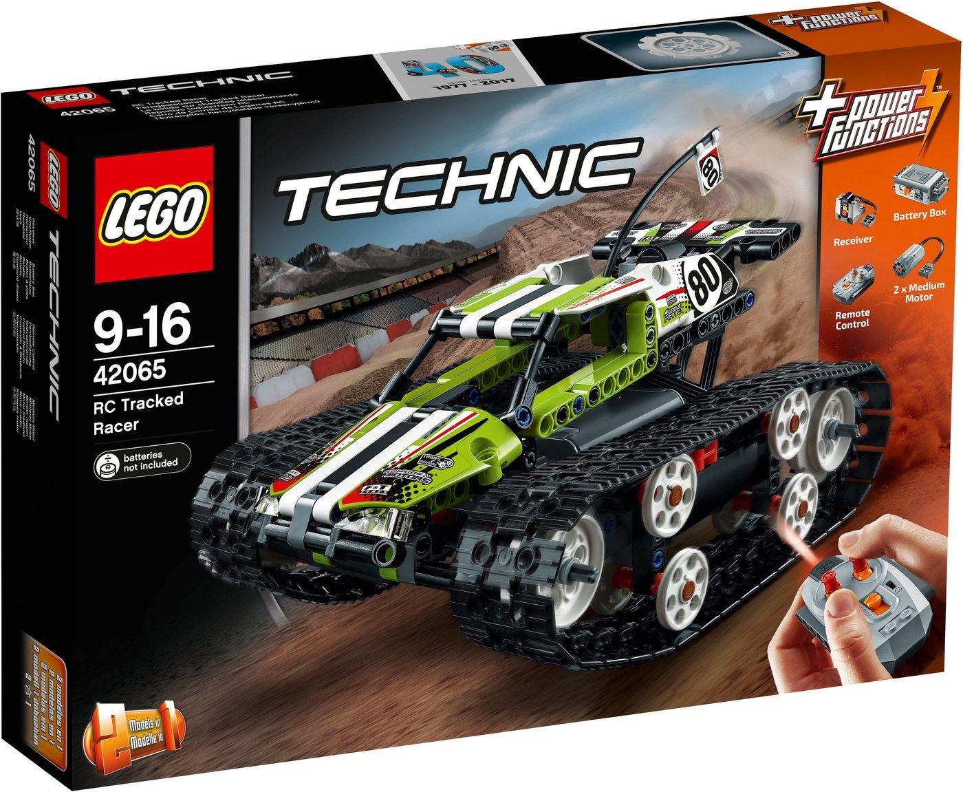 LEGO®, radiografisch bestuurbare RC Rupsbandracer(42065 ), LEGO® Technic