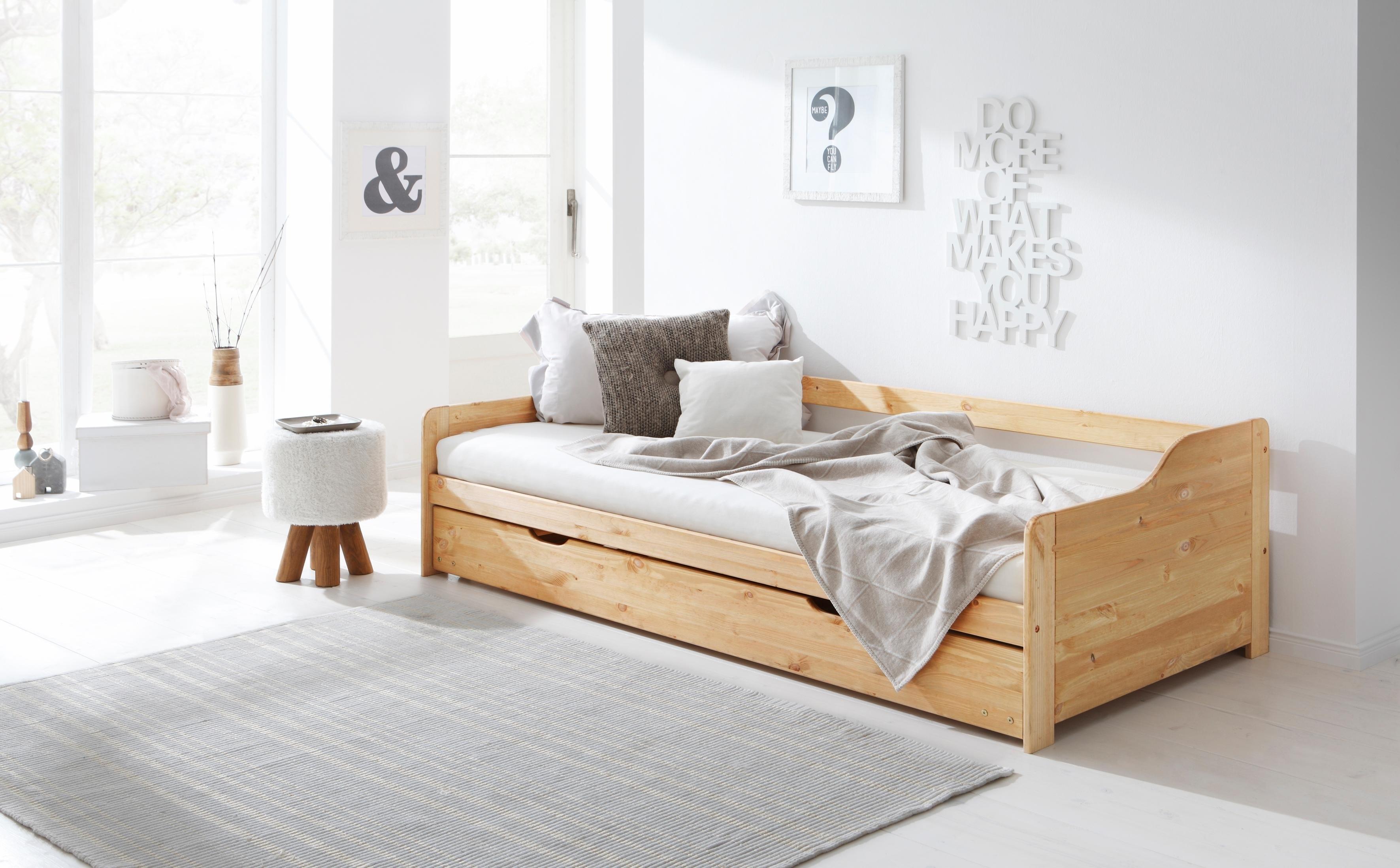 Home affaire slaapbank TIM met uittrekbare lade voor extra matras als logeerbed veilig op otto.nl kopen