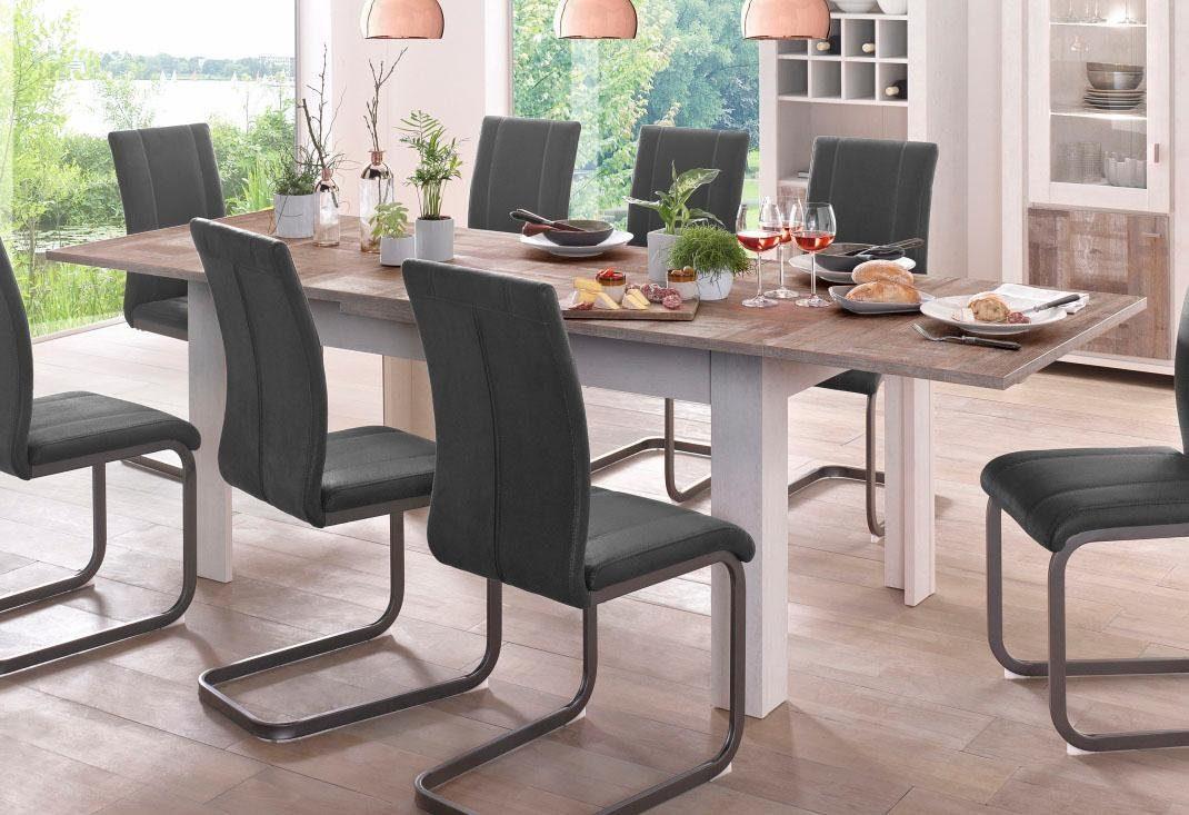 Eetkamertafel Uitschuifbaar Wit : ≥ grote eettafel uitschuifbaar wit tafels eettafels