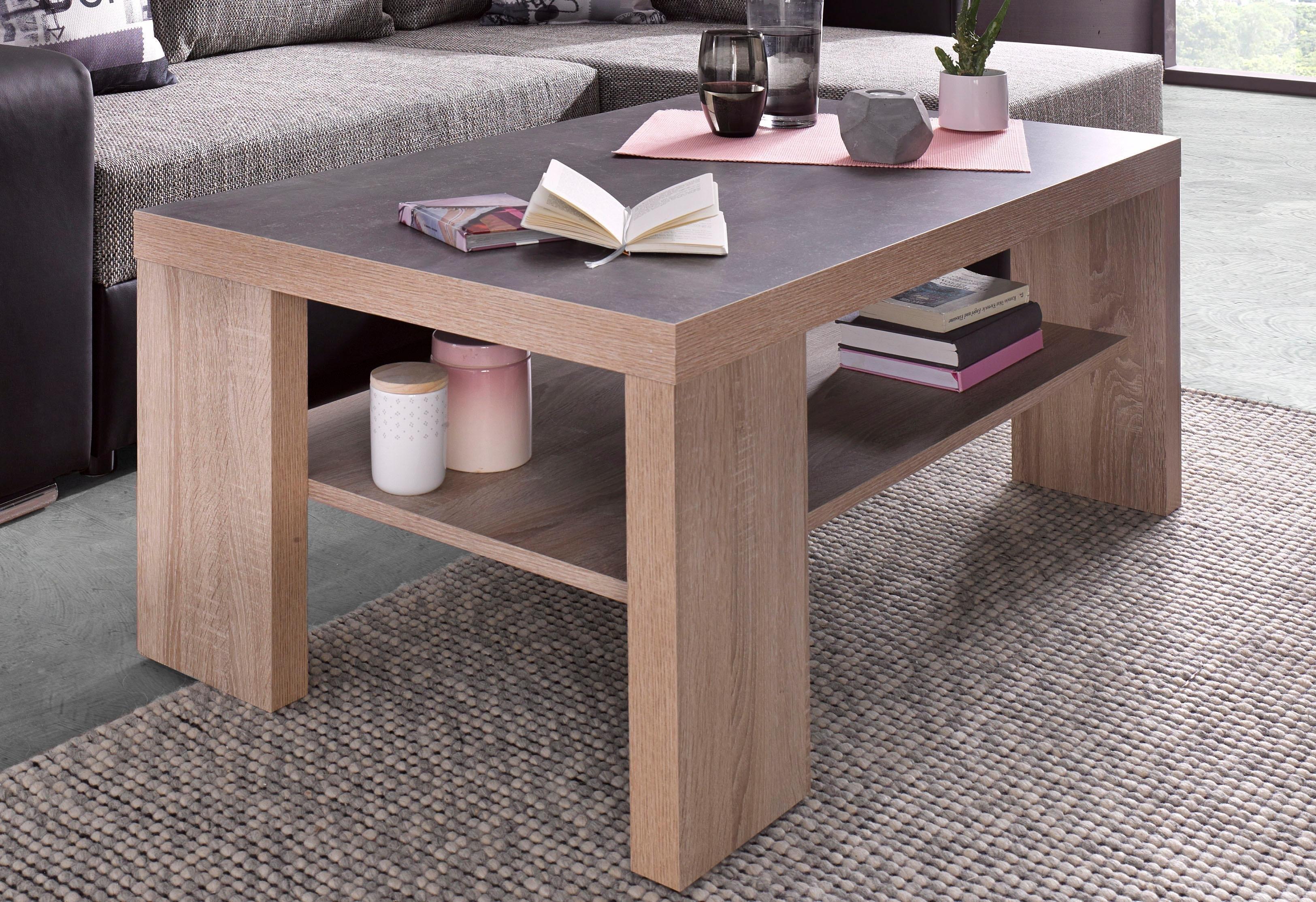 PRO Line salontafel met plank nu online bestellen