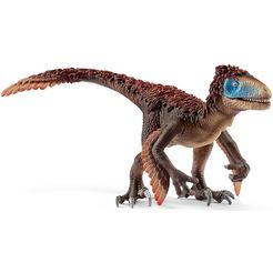 schleich speelfiguur 'dinosaurs, utahraptor, 14582' bruin