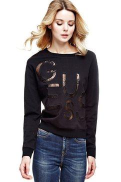 sweatshirt met logo van kant