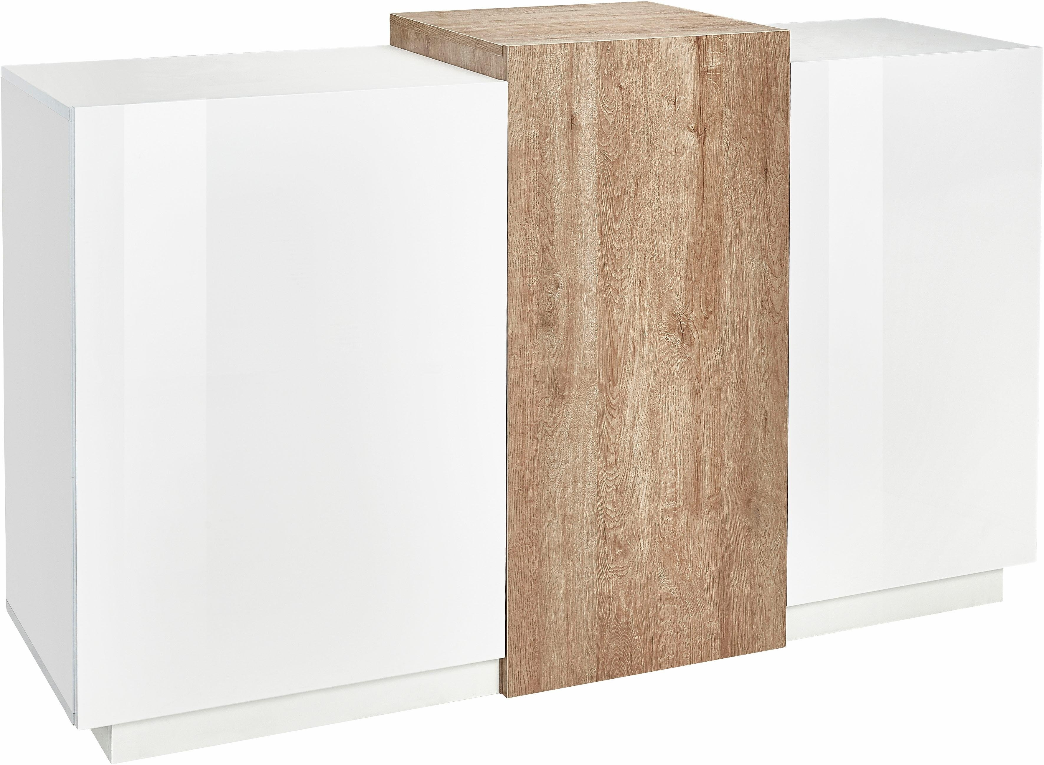 tecnos sideboard breedte 150 cm makkelijk besteld otto. Black Bedroom Furniture Sets. Home Design Ideas