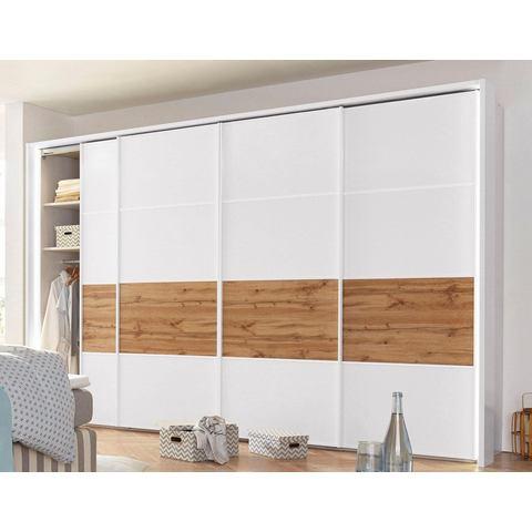 witte zweefdeurkast Wiemann breedte 300 cm 4 deurs hoogte 216 cm 307743