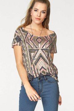 shirt met ronde hals »LUA«