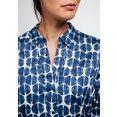 eterna overhemdblouse modern classic lange mouwen blauw