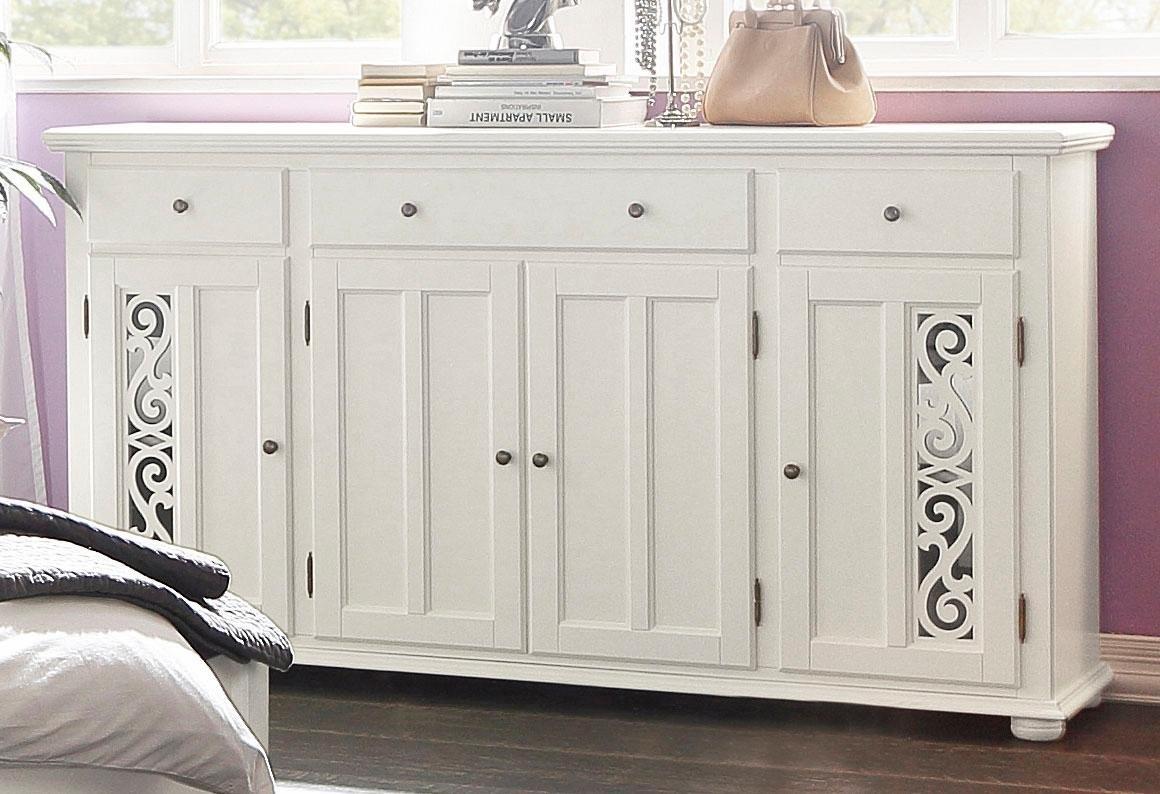 Premium collection by Home affaire dressoir Arabeske met mooi decoratief freeswerk in de deurfronten, breedte 171 cm - verschillende betaalmethodes