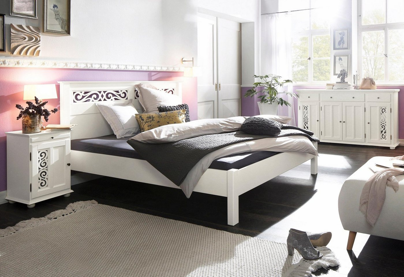 HOME AFFAIRE Bed Arabeske