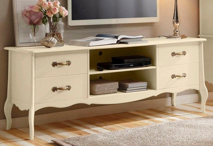 Home affaire tv-meubel Lebo van massief grenen, breedte: 180 cm bestellen: 30 dagen bedenktijd