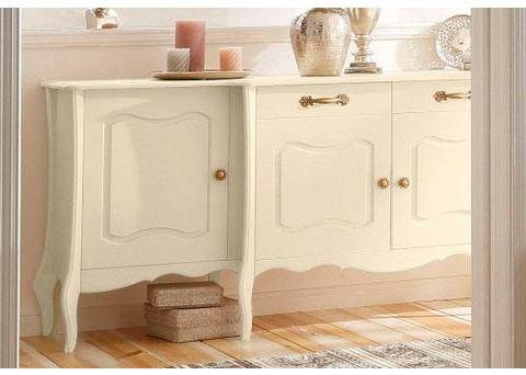 Home affaire dressoir 'Lebo', met soft-closesysteem, breedte: 215 cm
