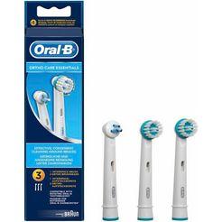 oral-b opzetborstel orthocare essential set van 3 wit