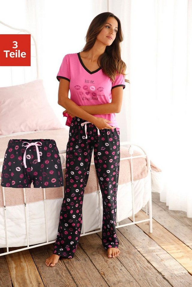 VIVANCE DREAMS pyjama-set (3-delig)