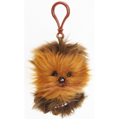 Pluchen knuffel met geluid en hanger, »DISNEY STAR WARS™, Chewbacca, ca. 10 cm«