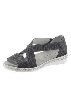 aco sandaaltjes met elastiek zwart